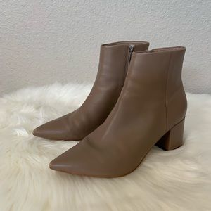 Marc Fisher Jelly Leather Bootie/Ankle Boot